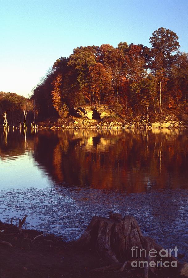 Nature Photograph - Patoka Lake - Indiana by Jack R Brock
