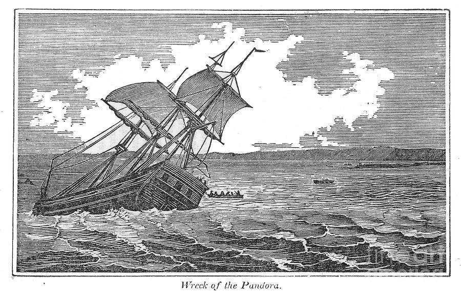 1790s Photograph - Pitcairn Island by Granger