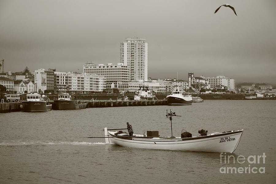 Sea Photograph - Ponta Delgada by Gaspar Avila