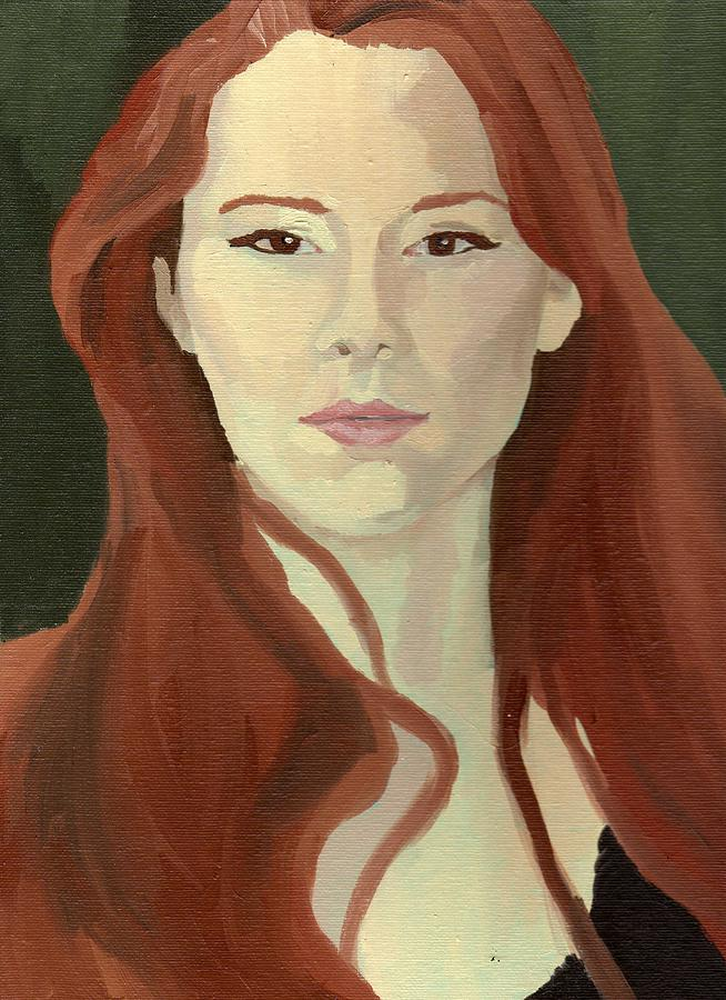 Portrait Painting - Portrait by Stephen Panoushek