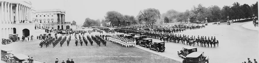 1920s Photograph - President Warren Hardings 1865-1923 by Everett