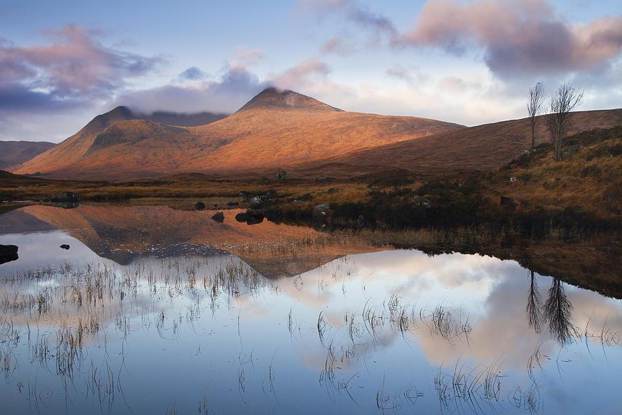 Highland Photograph - Rannoch Moor At Sunrise by Gabor Pozsgai