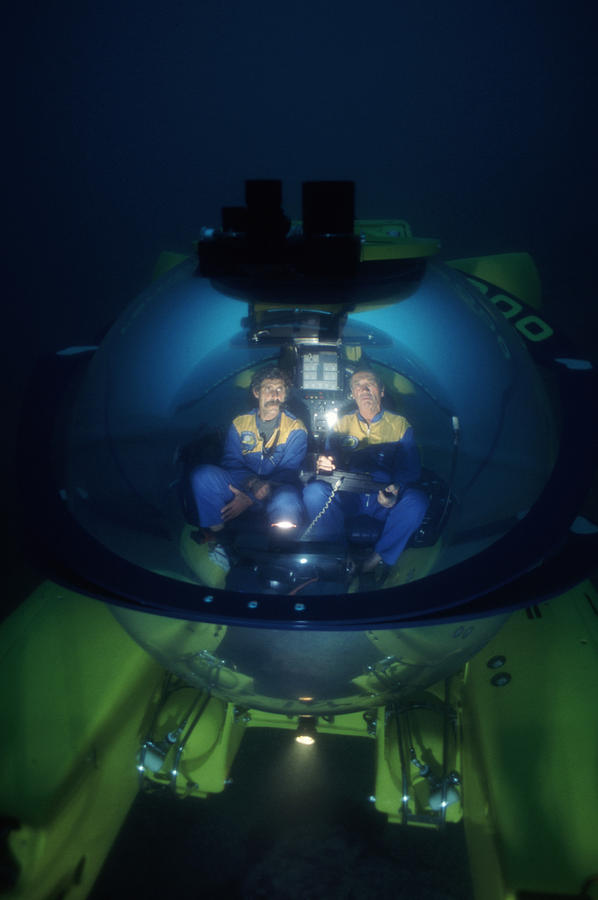Submarine Photograph - Research Submarine by Alexis Rosenfeld