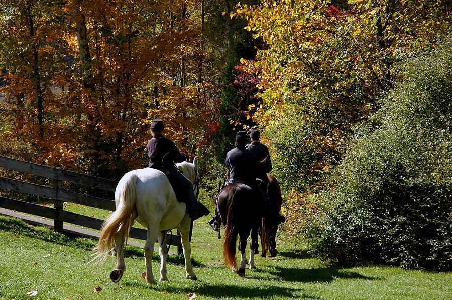Usa Photograph - Riding Soldiers by LeeAnn McLaneGoetz McLaneGoetzStudioLLCcom