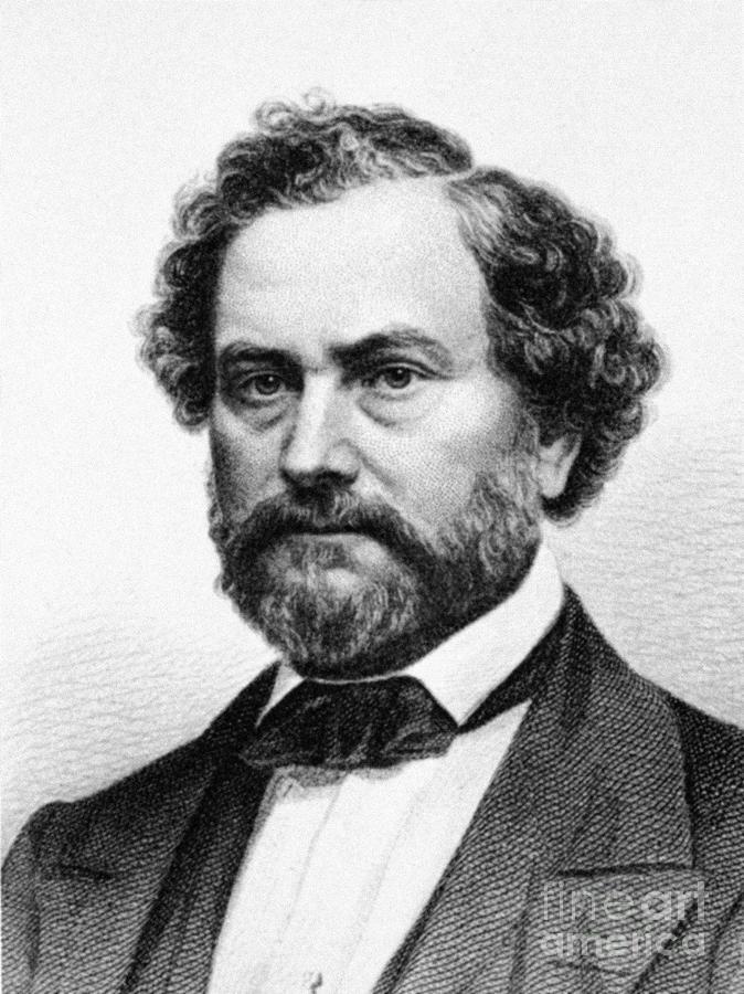19th Century Photograph - Samuel Colt (1814-1862) by Granger