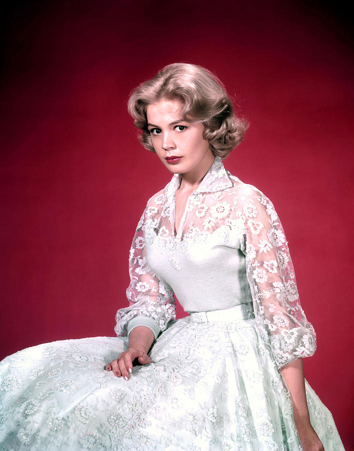 1950s Fashion Photograph - Sandra Dee, Ca. 1950s by Everett