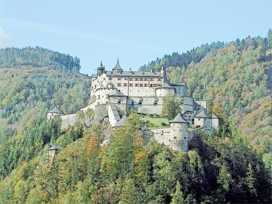 Europe Photograph - Schloss Hohenwerfen Werfen Austria  by Joseph Hendrix