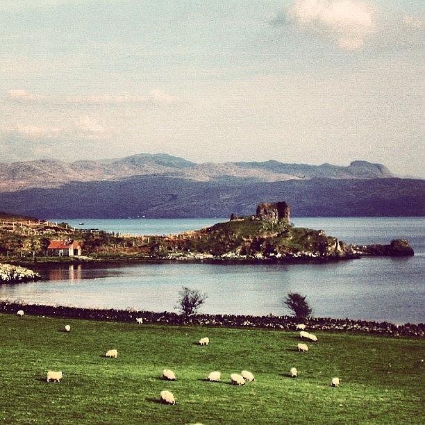 Scenery Photograph - Scotland by Luisa Azzolini