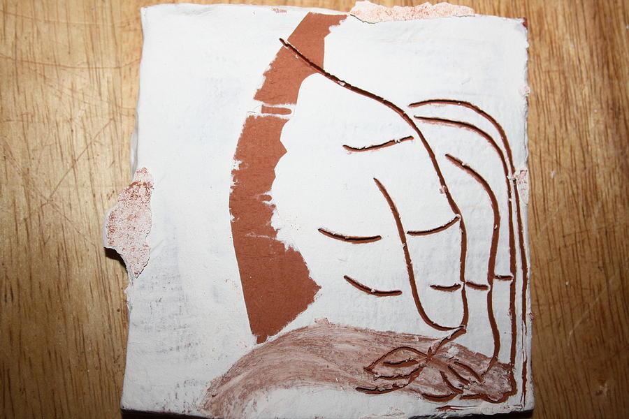 Jesus Painting - Senses - Tile by Gloria Ssali