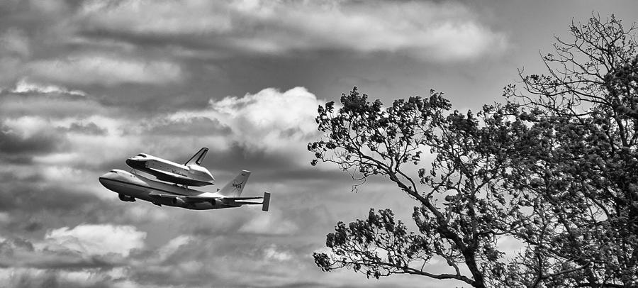 Shuttle Enterprise Photograph - Shuttle Enterprise by Roni Chastain