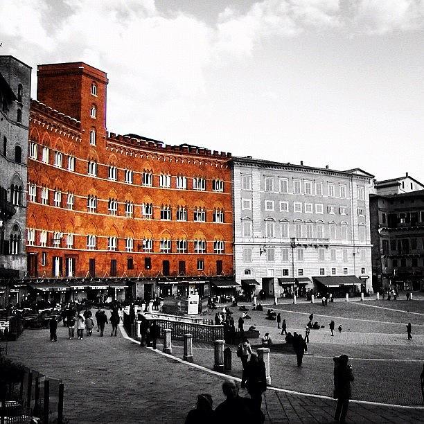 Beautiful Photograph - Siena by Luisa Azzolini