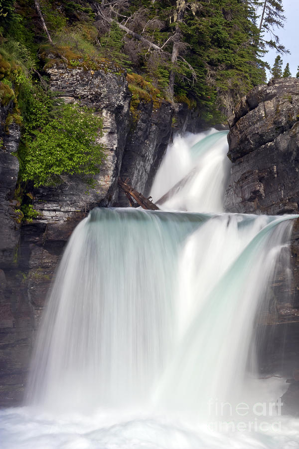 Waterfalls Photograph - St Marys Falls by Scotts Scapes
