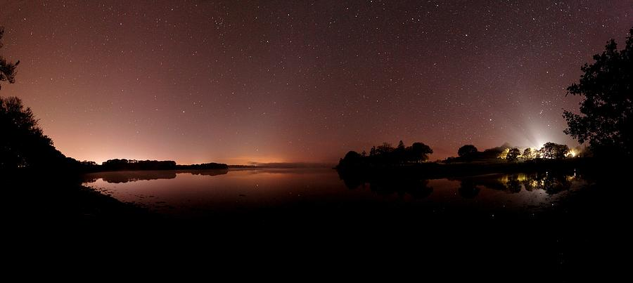 Corona Borealis Photograph - Stars In A Night Sky by Laurent Laveder