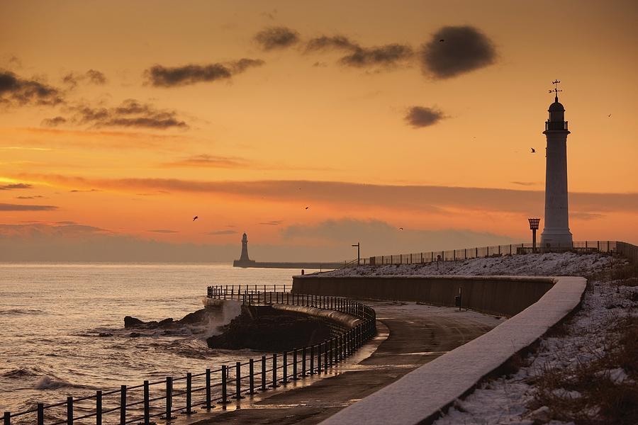 Tyne And Wear Photograph - Sunderland, Tyne And Wear, England A by John Short