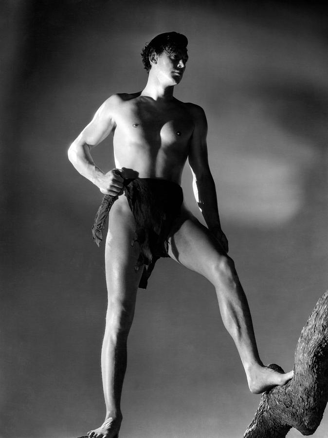 1930s Movies Photograph - Tarzan And His Mate, Johnny by Everett