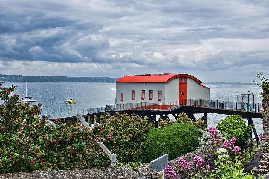 Tenby Lifeboat House Photograph by Steve Purnell