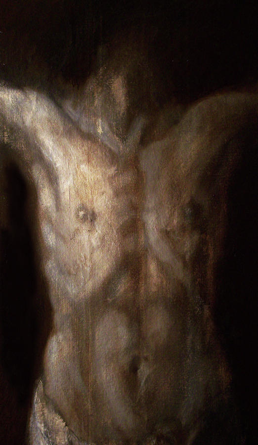 The Crucifixion Of Christ Painting By Derek Van Derven