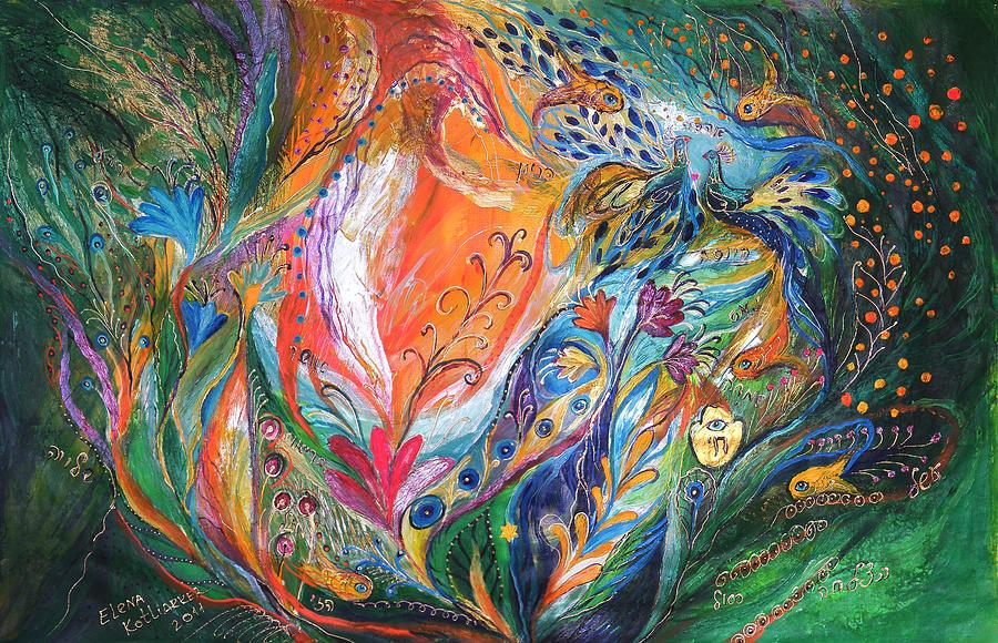 Original Painting - The Glade by Elena Kotliarker