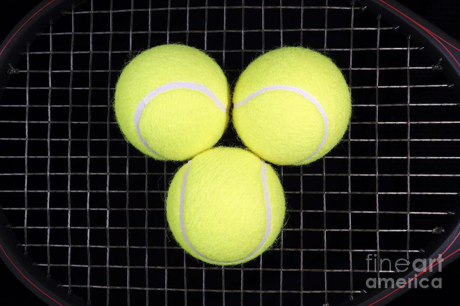Tennis Photograph - Time For Tennis by John Van Decker