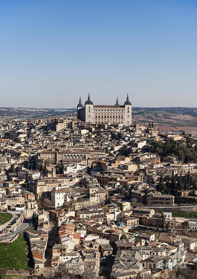 Alcazar Photograph - Toledo Spain by John Greim