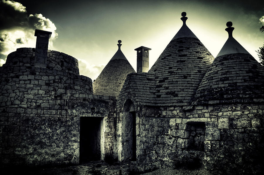 Roof Photograph - Trulli by Joana Kruse