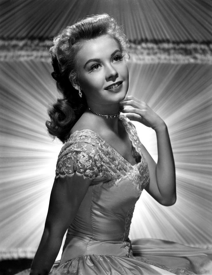 Diamond Necklace Photograph - Vera-ellen, Ca. Early 1950s by Everett