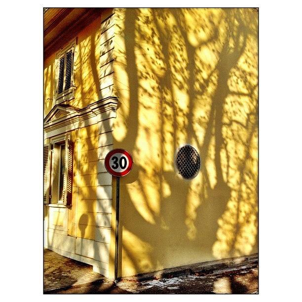 Shadows Photograph - 30 Kmh by Paul Cutright