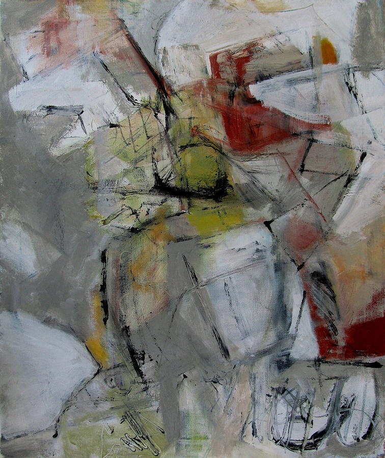 Abstract Painting - Untitled by Fred Smilde