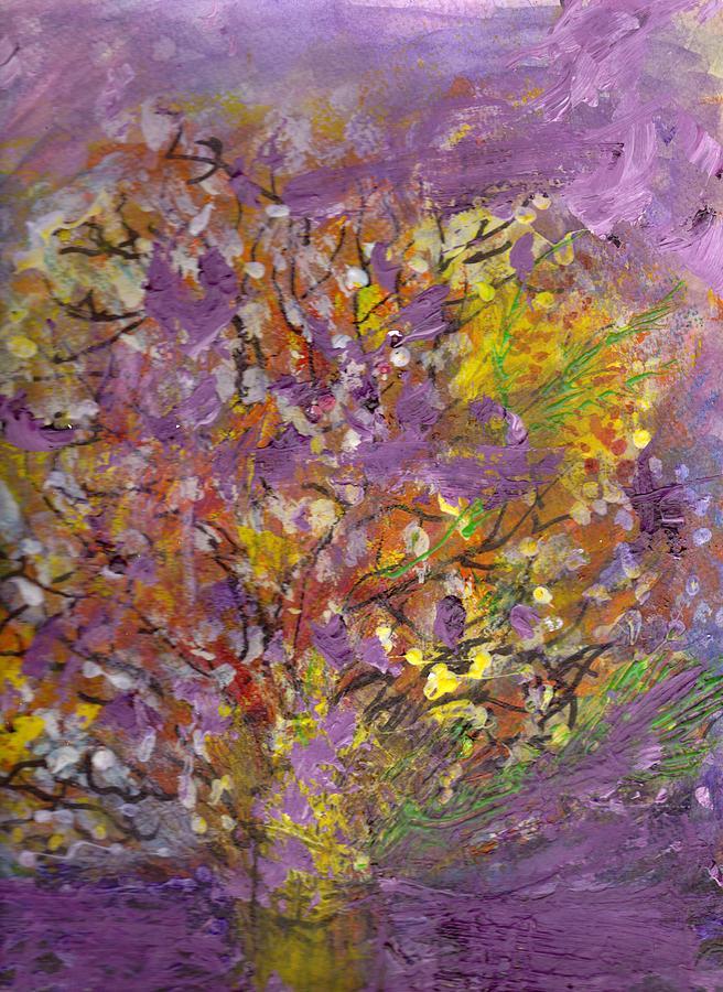 Tree Mixed Media - Untitled by Anne-Elizabeth Whiteway