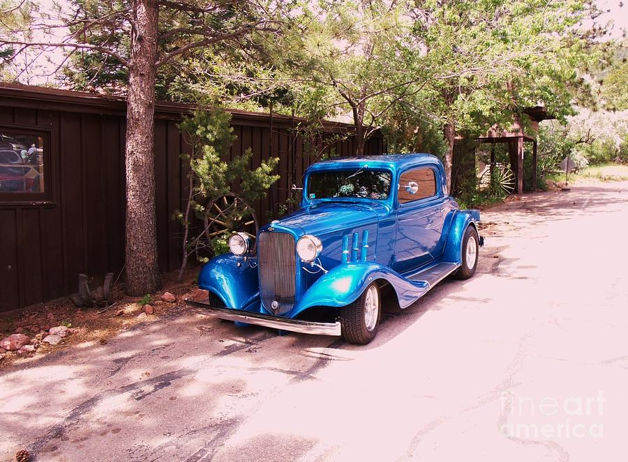 Vintage Car Photograph - 33 Chevy Coupe by Donna Parlow