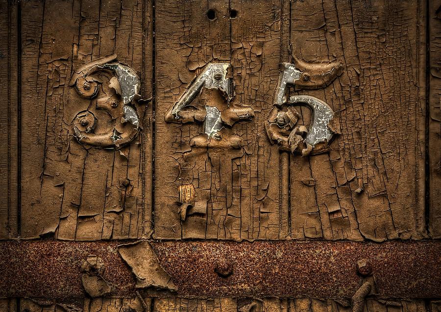 Door Photograph - 345 by Evelina Kremsdorf