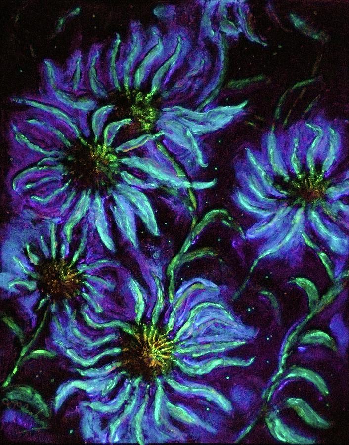 Cosmic Painting - Cosmic Light Series by Len Sodenkamp