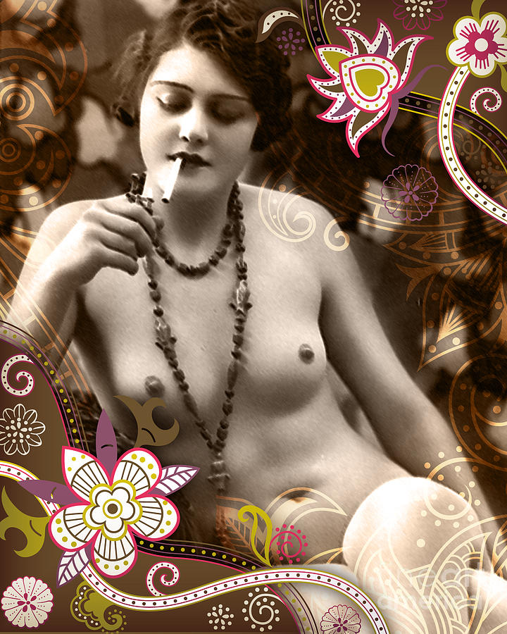 Vintage Photograph - Goddess by Chris Andruskiewicz