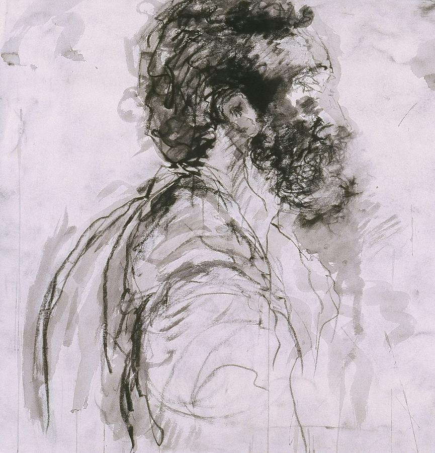 Man Drawing - Untitled by Iris Gill
