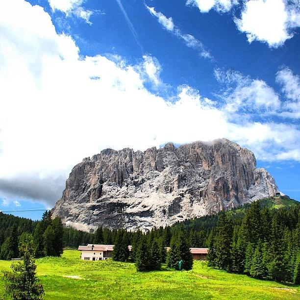 Beautiful Photograph - Dolomites by Luisa Azzolini