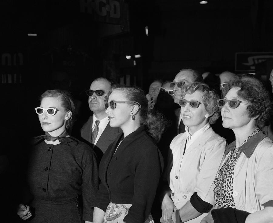 Horizontal Photograph - 3d Tv Glasses by Walter Bellamy