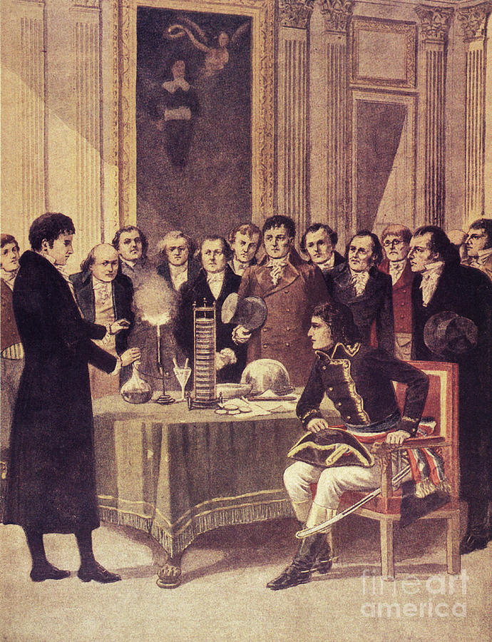 Science Photograph - Alessandro Volta, Italian Physicist by Science Source