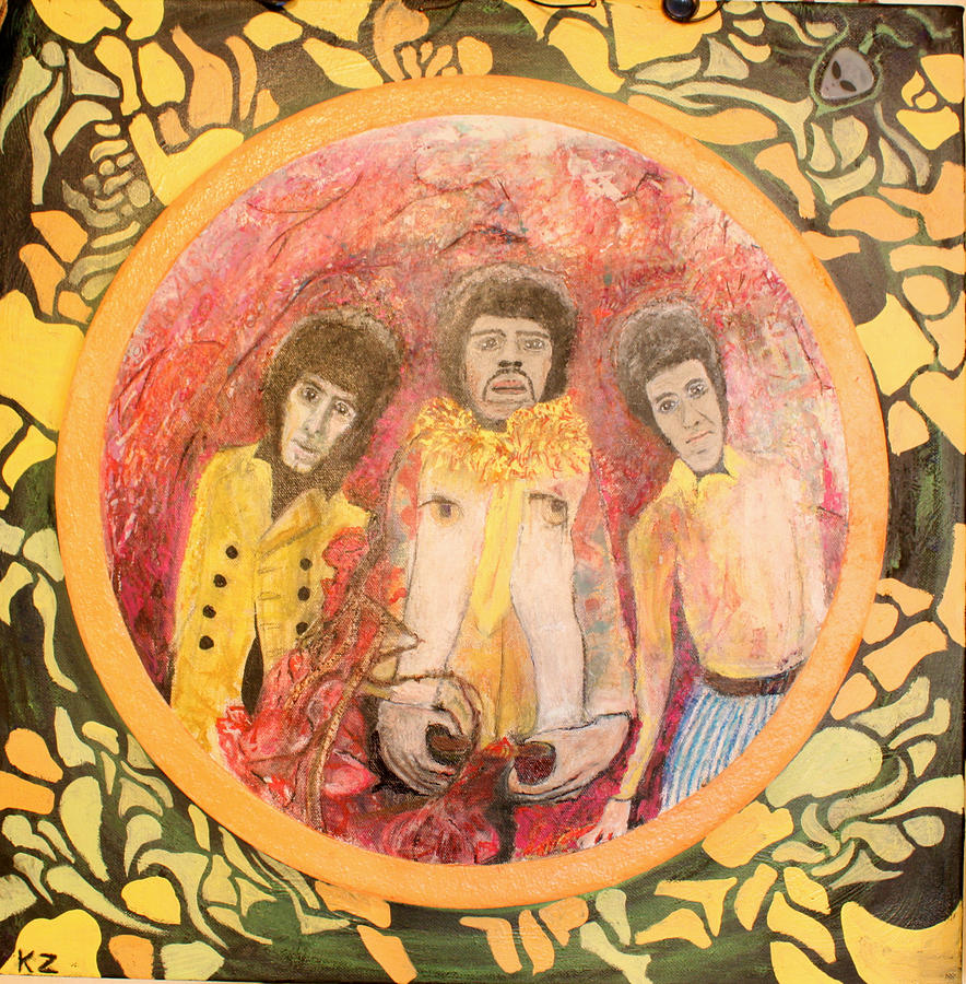 Portraits Painting - Are You Experienced. by Ken Zabel