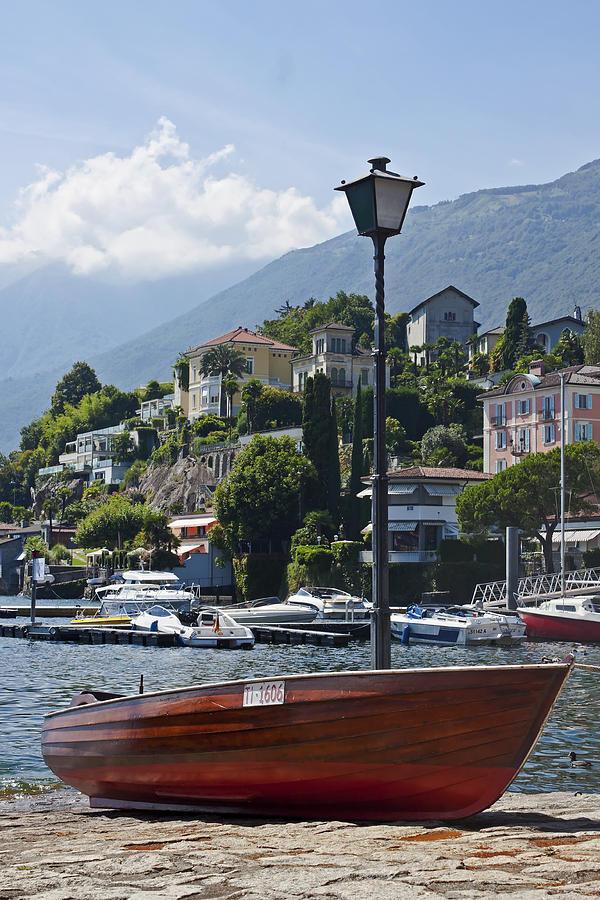 Alps Photograph - Ascona - Ticino by Joana Kruse