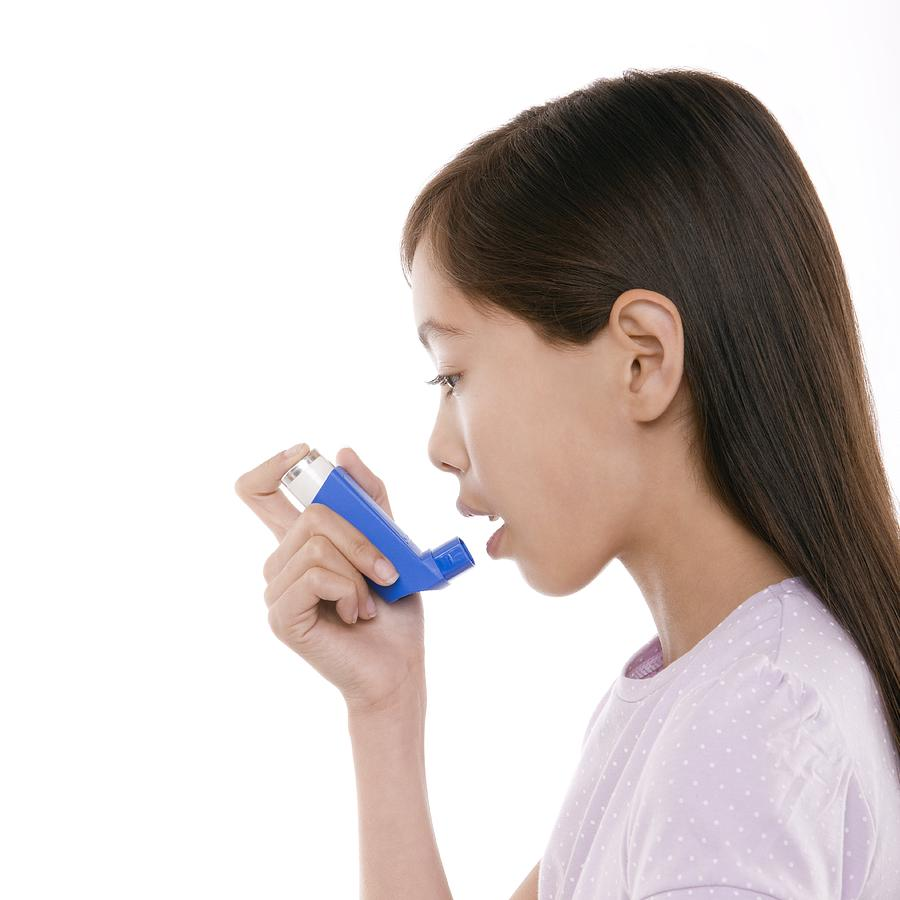 Asthma Inhaler Photograph - Asthma Treatment by