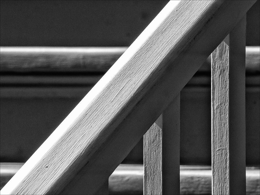 Bannister Photograph - Bannister by Robert Ullmann