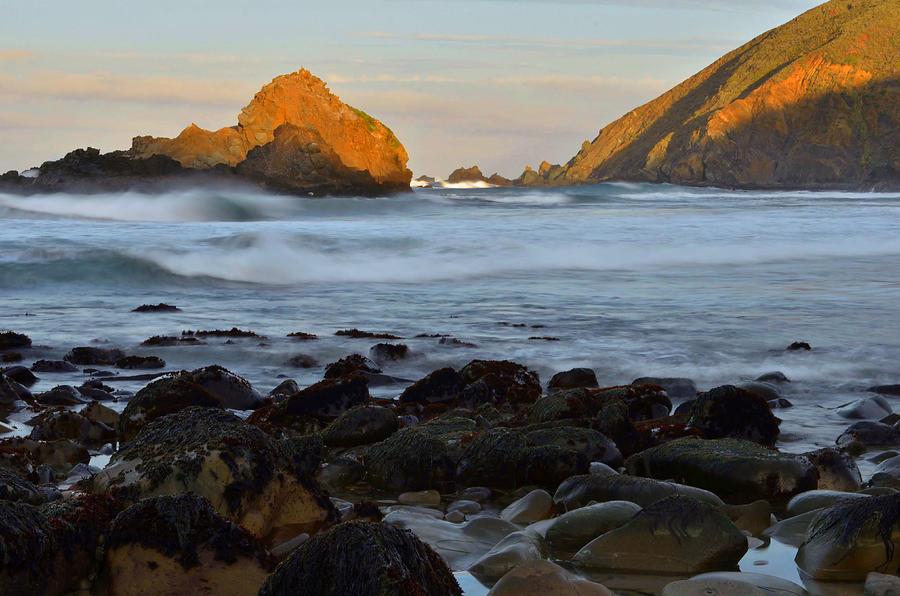 Big Sur Photograph - Big Sur Coastline by Stephen  Vecchiotti