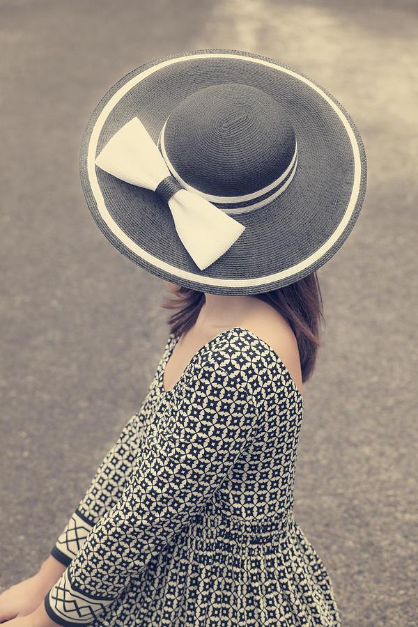 Woman Photograph - Black And White by Joana Kruse