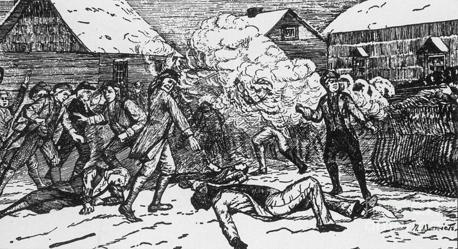 a history of the boston massacre in british america British government, came as a sequence the boston massacre from the landing of the troops there seems to have been a con- stant feeling of irritation kept up between them and the people.