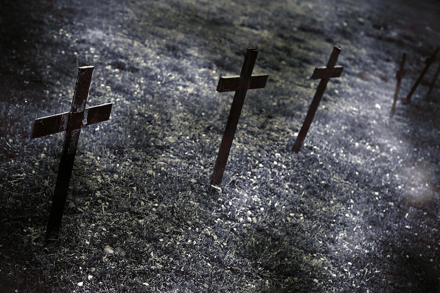 Cemetery Photograph - Cemetery by Joana Kruse