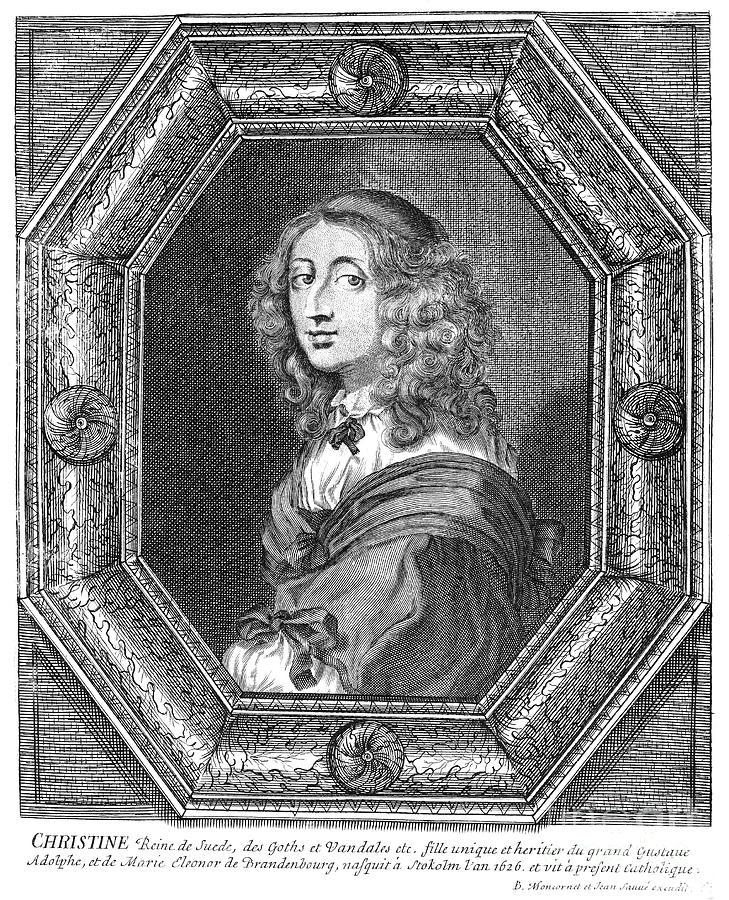 Christina Photograph - Christina (1626-1689) by Granger