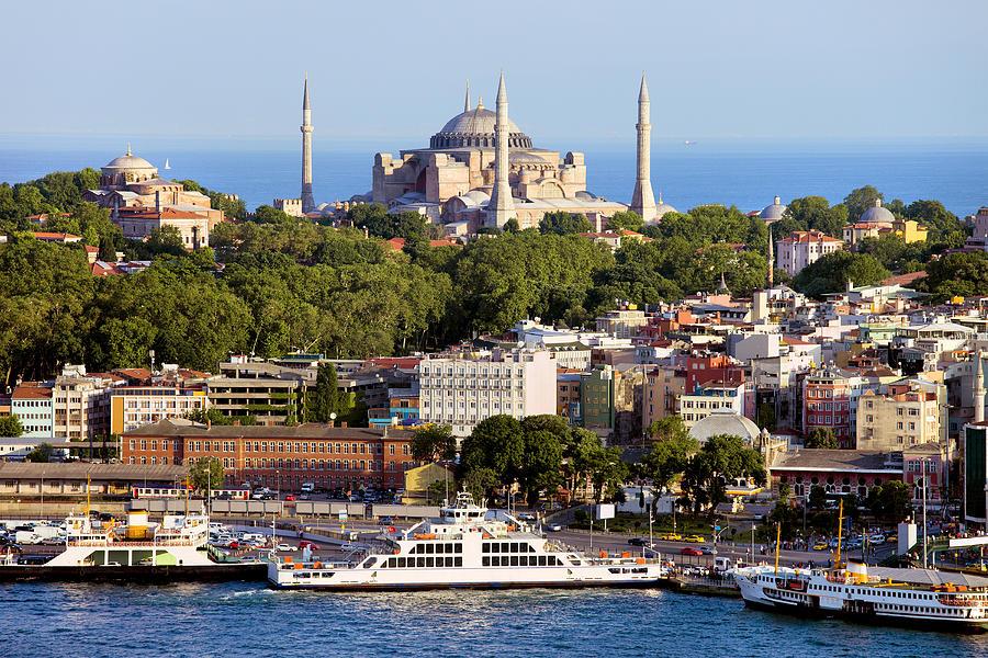 Architecture Photograph - City Of Istanbul by Artur Bogacki