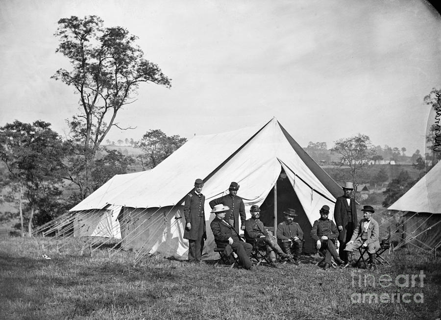 1862 Photograph - Civil War: Antietam, 1862 by Granger