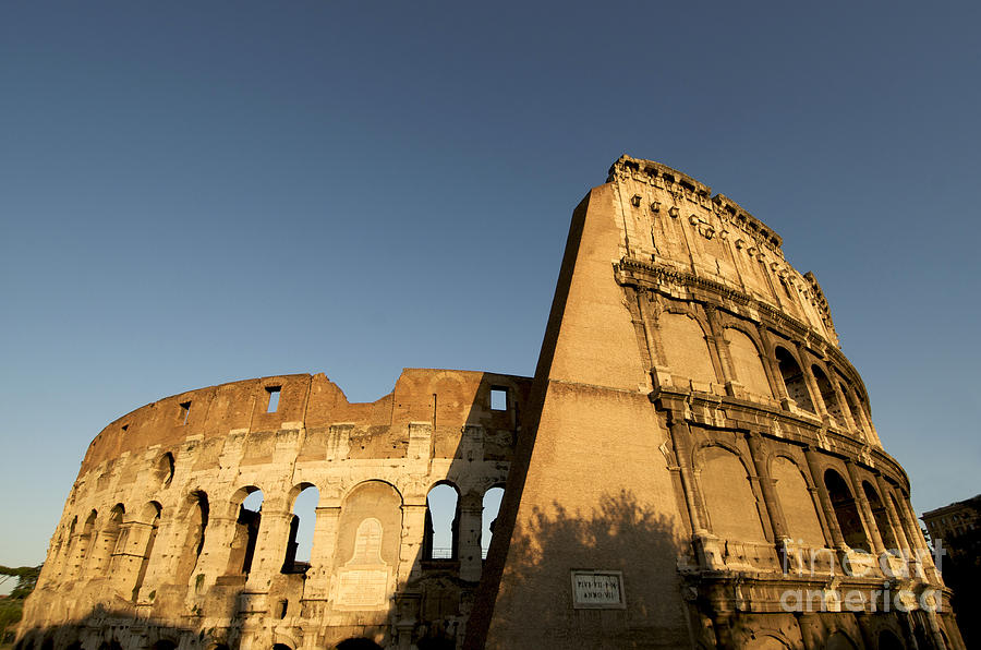 Tourism Photograph - Coliseum. Rome by Bernard Jaubert
