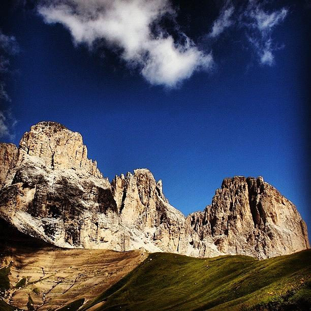 Mountain Photograph - Dolomites by Luisa Azzolini